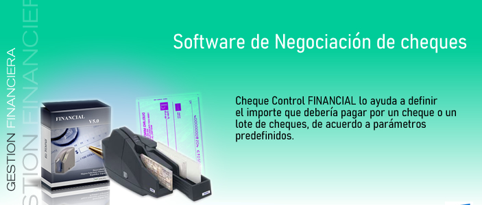 Software cheques Financial